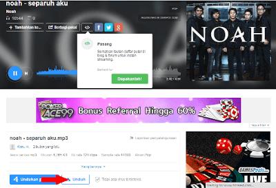 Cara Daftar dan Download Lagu Indonesia Terbaru Gratis dan Mudah di 4Shared.com